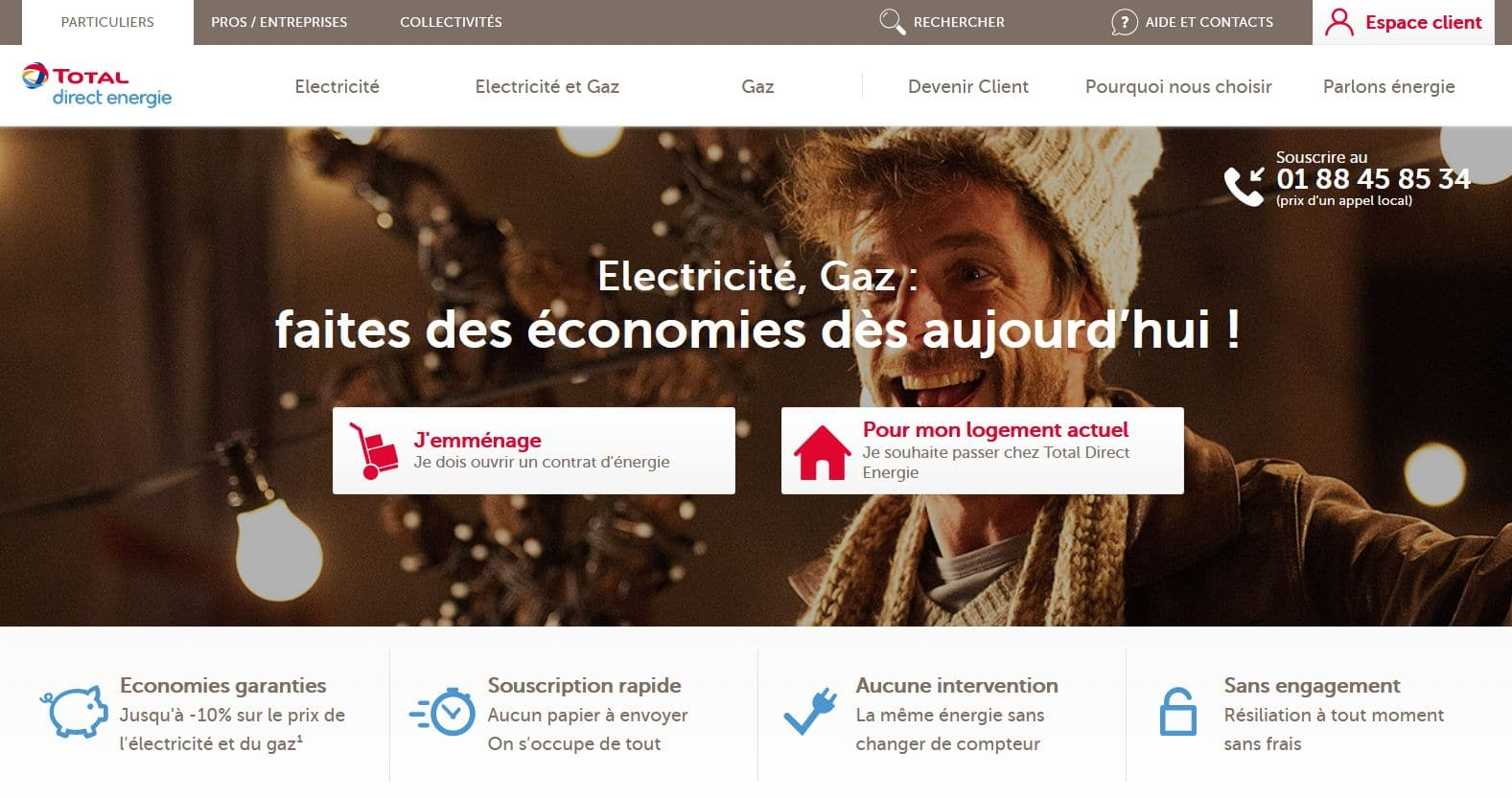 Total direct énergie : l'énergie par total